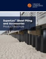 Superloc sheet piling and accessories