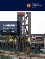 Superpile technical brochure