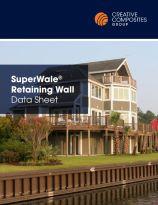 Superwale retaining wall datasheet