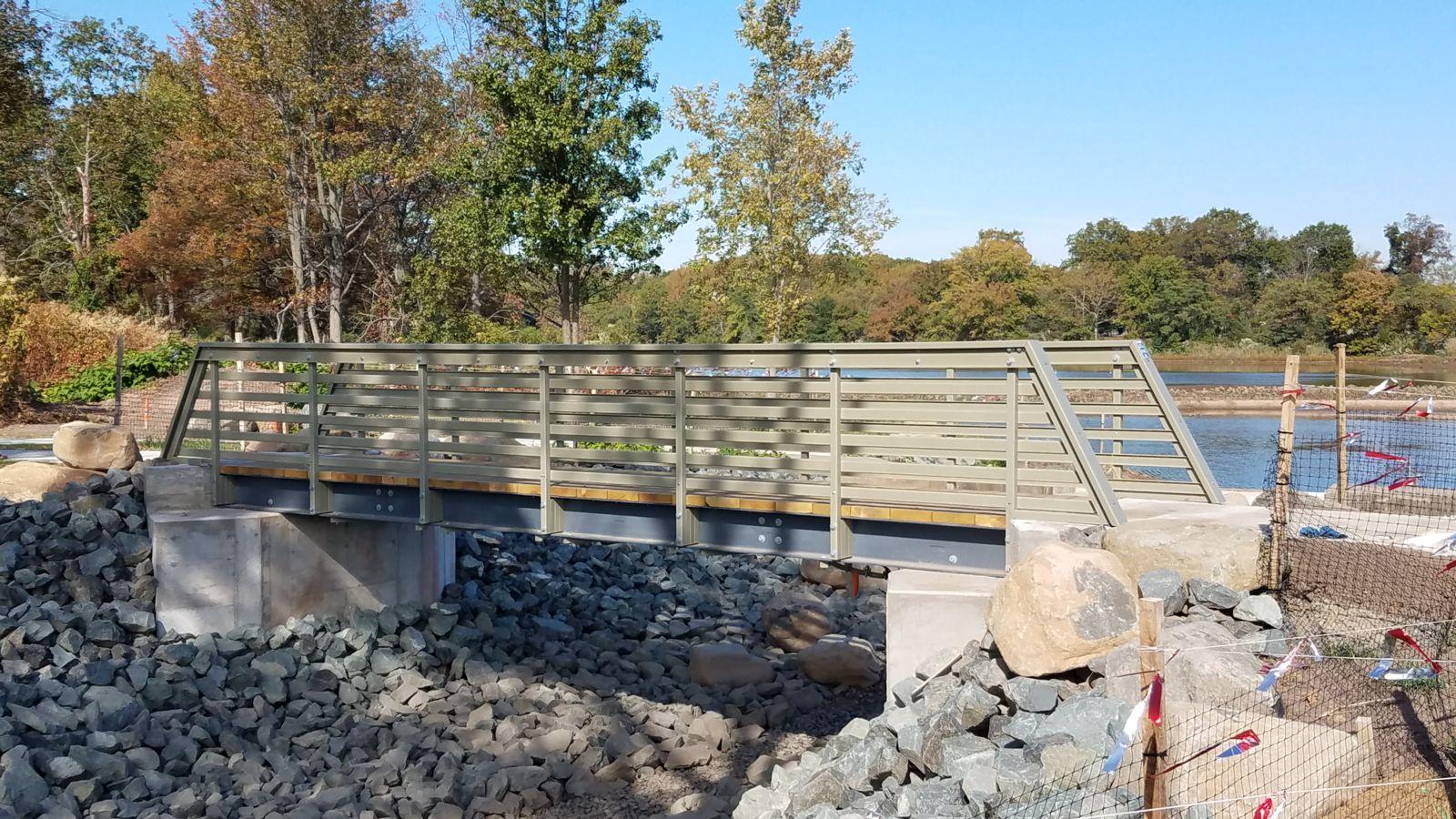 Wolfes Pond Park Bridge