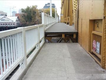Cantilever Sidewalk