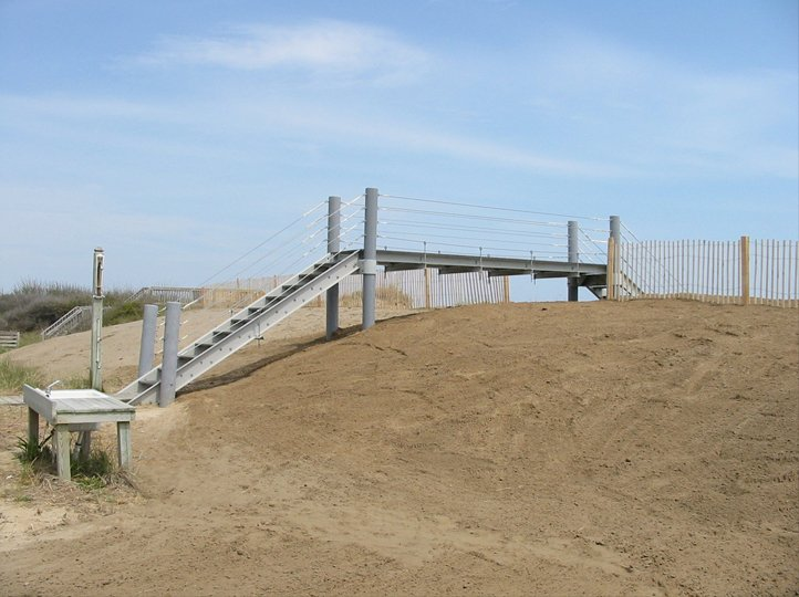 Construction Industry - Beach Access Walkway