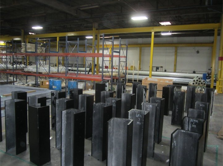 2. Highrise channels ready for shipping
