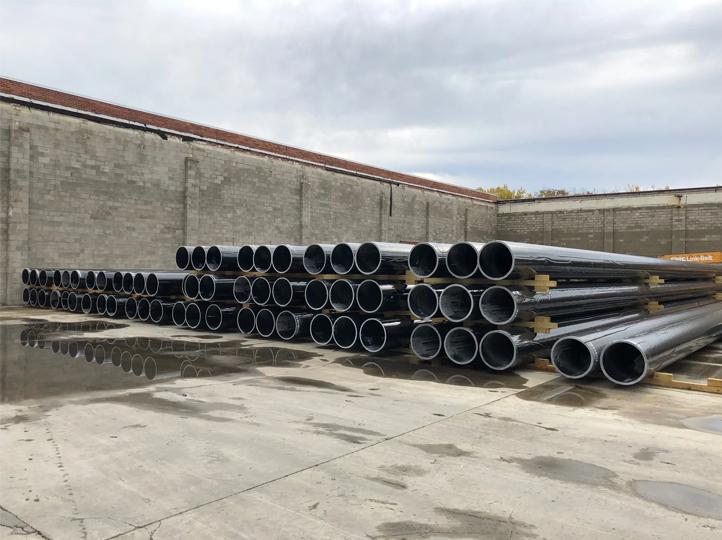 4. Highrise pilings in CA yard