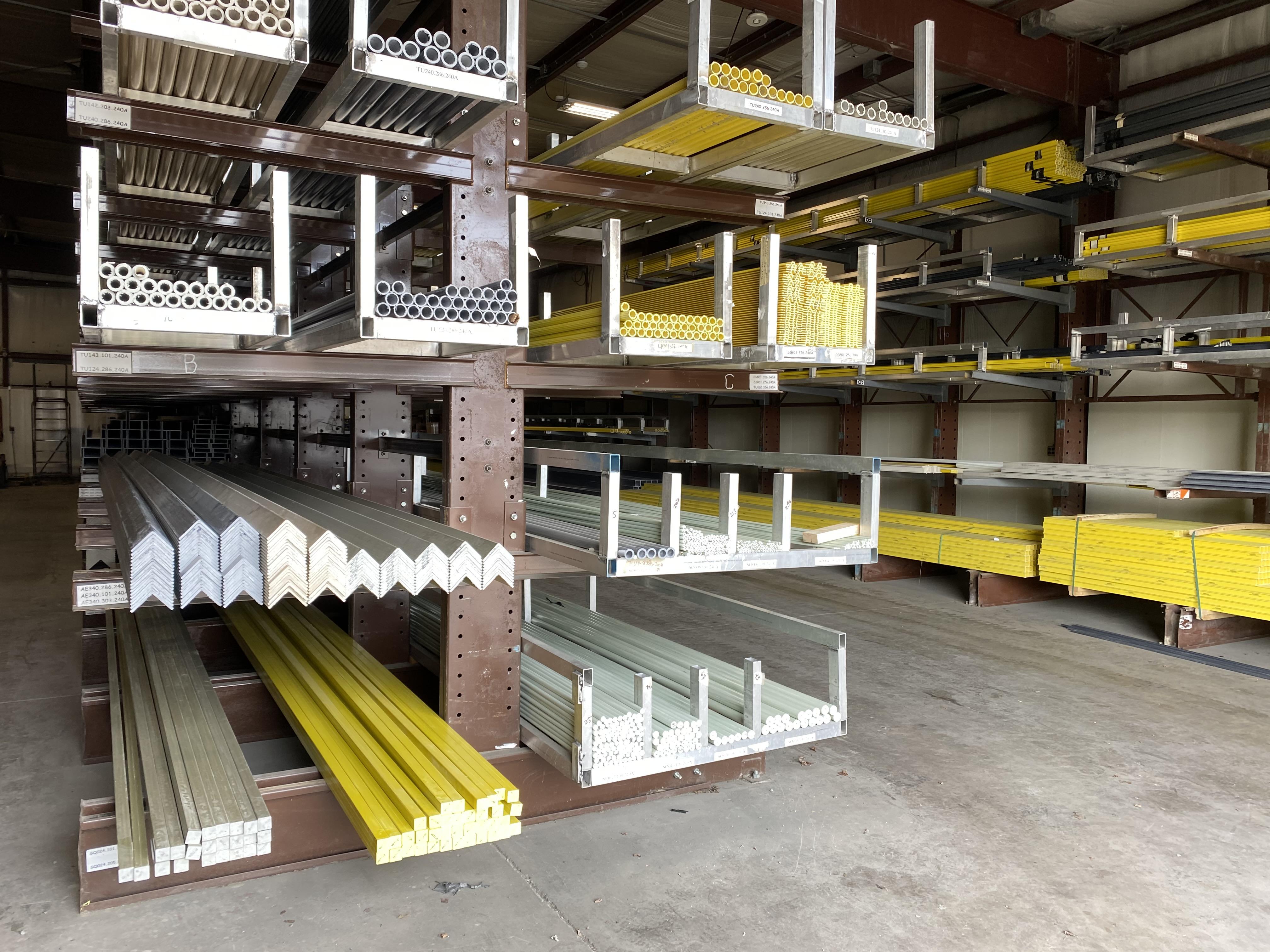 Inventory Catalog of Standard Fiberglass Profiles