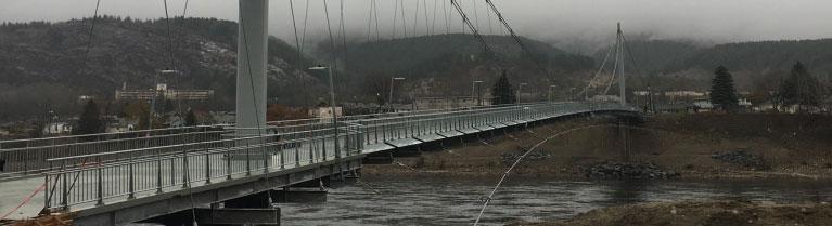 Pedestrian Bridge With FiberSPAN