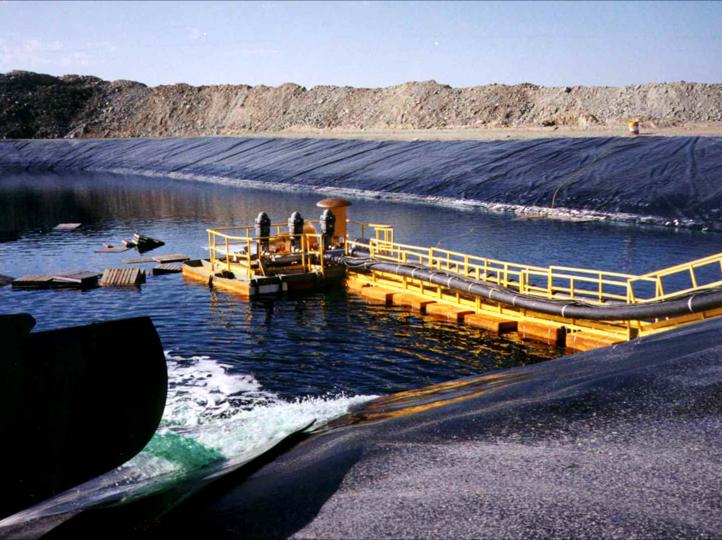 Mining Industry - Floating Pump Platform