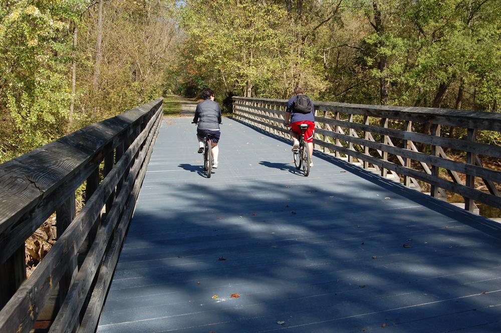 Rails to Trails Bicyclists