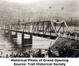 Grand Opening Source: Trail Historical Society
